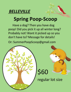 Poop Scoop Belleville and area