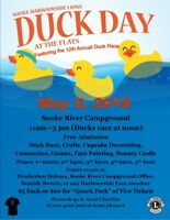Duck Day at the Flats sponsored by the Sooke Harbourside Lions