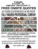 DO YOU NEED A NEW ROOF? IT'S OUR CUSTOMER APPRECIATION MONTH