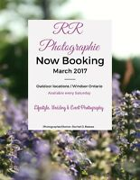 RR Photographie BOOKING for MARCH 2017