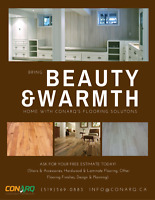 Bring Beauty & Warmth Home with CONARQ Flooring Solutions