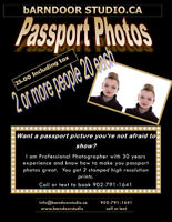 Passport Photos you will want to show-off