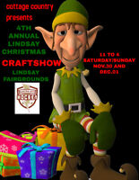 4th ANNUAL LINDSAY CHRISTMAS CRAFT SHOW
