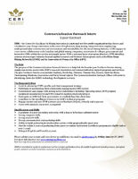 Commercialization Outreach Intern - 1-year Contract