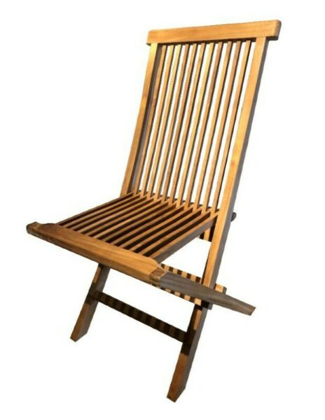 BOO FURNITURE SOLID WOOD -- PATIO CHAIR