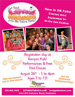 Get Bent Bollywood Bellydance Registration day at Kenyon Park in