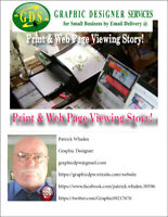 Graphic Designer services for Small Business by Email Delivery