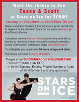 Volunteer for Lindt/Stars on Ice!
