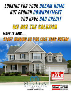 RENT TO OWN: MOVE INTO YOUR DREAM HOME NOW