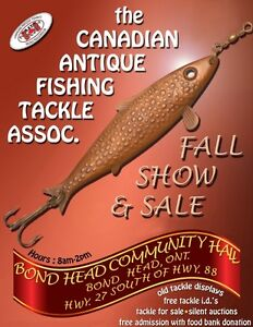 Fishing Vendors wanted SUN Sept 24th, vintage, new, used, modern