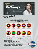 Toastmasters - Information Session on new Education Program