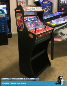 New Home Arcade Bartop Cabinet & Stand w/ over 9,880 games & Wty