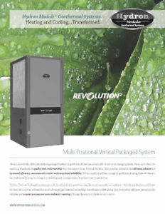 4 T Hydron Geothermal Installed with  up to $12,250 in rebates