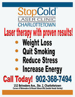 Weight Loss and Quit Smoking Services in Charlottetown!