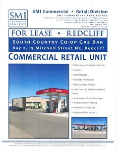 New Commercial Retail Unit with Drive Thru in Redcliff