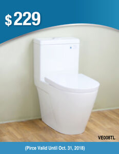 New Arrival SALE!!!Fully Concealed Trapway Toilet From$179!!!