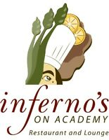 Part Time Evening Line Cook Needed
