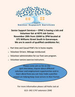 Job fair! PSW and volunteer