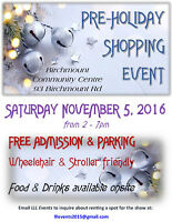 VENDORS WANTED SHOW NOV 5, 2016