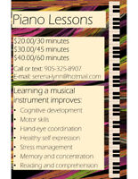 Piano lessons for all ages. First lesson book free!