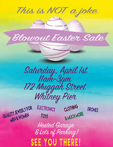 Easter blowout sale