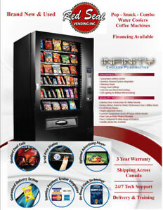 Brand New & Used Vending Machines - Water Coolers - Coffee