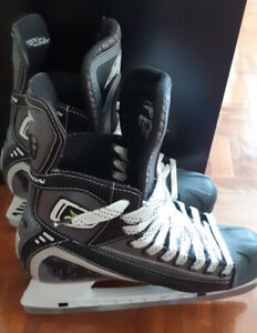 Patins de hockey homme pointure 9 1/2 avec protège-lames