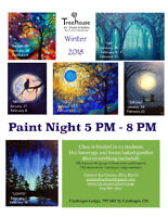 Paint Nights at the Calabogie Lodge