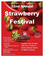 32nd Annual Strawberry Festival