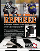 Become a referee in Oshawa/Pickering/Durham!