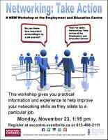 Networking:Take Action at EEC Dec. 15