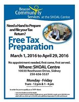 Free Tax Preparation and Filing