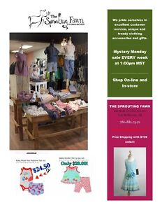 The Sprouting Fawn - Children's Boutique