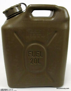 20L Military Jerry Can