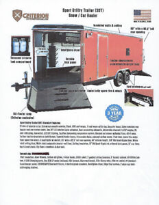 Now Available - Sport Utility Trailer