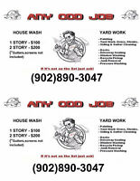 ANY ODD JOB INSIDE or OUT plus cleaning/maintenance/services.