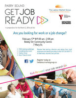 "Attention Parry Sound job seekers! Are you ""job ready?"""
