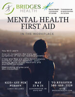 Mental Health First Aid Certification Workshop May 23&24