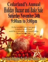 Cedarland schools holiday bazaar