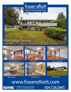 2 level Family Home in desirable Cedar Hills!