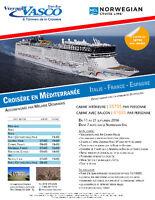 Croisière en Méditerranée avec accompagnatrice
