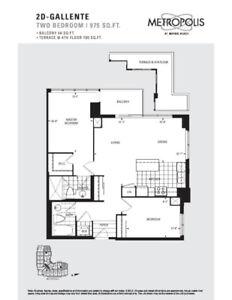 2 bedroom + 2 baths + parking for rent