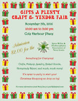 Gifts A Plenty craft and vendor fair