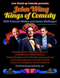 Tickets are selling fast to this great night of stand up comedy.
