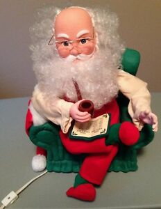 Santa's Best - Animated Collectables - Santa Claus – Electric