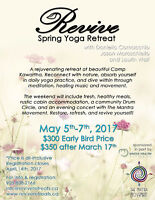 Revive Spring Yoga Retreat!