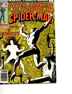 Spectacular Spiderman  for  Sale most comics two dollars each