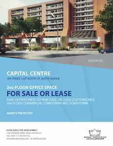 Downtown Prime Commercial Space - 109 ST & JASPER AVE