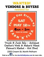 Short Hills Farm'N'Flea trunk sale!