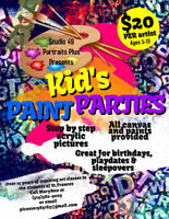 Kid's Paint Parties